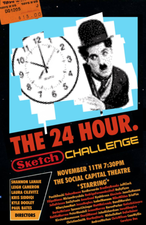 You Won't Find More Toronto Comedy Talent In One Place - 24 Sketch Challenge Returns 11/11
