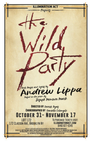 Illumination Act to Stage Immersive THE WILD PARTY this Fall