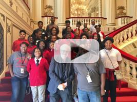 VIDEO: Pianist Emanuel Ax Visits St. Louis Symphony Orchestra and Jennings Schools