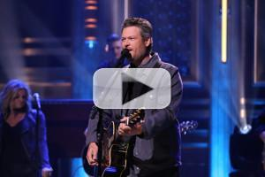 VIDEO: Blake Shelton Performs 'At the House' on TONIGHT SHOW