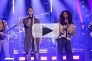 VIDEO: Maroon 5 Perform 'What Lovers Do' ft. SZA on TONIGHT SHOW