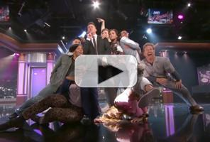 VIDEO: Guest Host Channing Tatum Dances His Way onto JIMMY KIMMEL