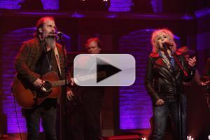 VIDEO: Steve Earle & Lucinda Williams Perform on LATE NIGHT