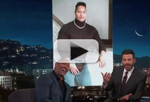 VIDEO: Jimmy Kimmel & Dwayne Johnson Settle Their Beef Once & For All