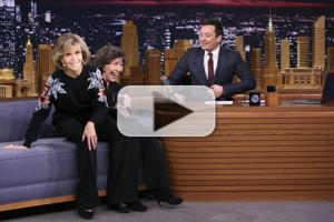 VIDEO: Jane Fonda & Lily Tomlin Are Shocked Young GRACE AND FRANKIE Fans Dig Vibrator Talk