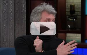 VIDEO: Jon Bon Jovi Reflects on Rock 'n Roll Hall of Fame Honor