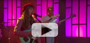 VIDEO: Liza Anne Performs 'Paranoia' on CONAN