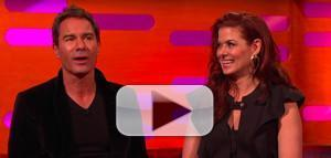 VIDEO: Will & Grace Stars Debra Messing and Eric McCormack Talk Pranking Madonna on The Graham Norton Show