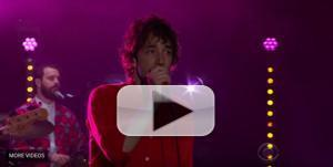 VIDEO: Albert Hammond Jr. Performs 'Set to Attack' on The Late Late Show with James Corden