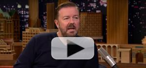 VIDEO: Ricky Gervais Loves Cats More Than Humans