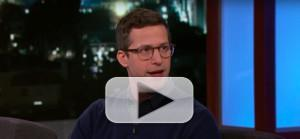 VIDEO: Andy Samberg Talks SNL, Being Naked, and Getting Drinks With Mark Hamill
