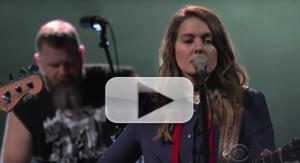 VIDEO: Brandi Carlile Performs THE JOKE On THE LATE SHOW WITH STEPHEN COLBERT