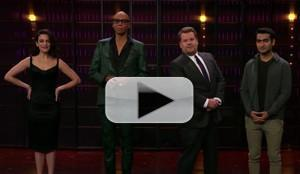 VIDEO: James Corden Invades RuPaul, Jenny Slate & Kumail Nanjiani's Cell Phones