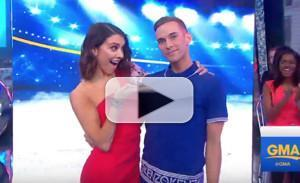 VIDEO: Watch the Cast of DANCING WITH THE STARS: ATHLETES on GOOD MORNING AMERICA