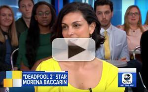 VIDEO: Morena Baccarin Opens Up About DEADPOOL 2 on GOOD MORNING AMERICA