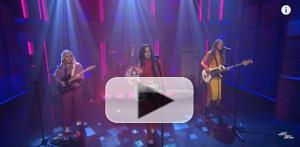 VIDEO: The Aces Perform WAITING FOR YOU On LATE NIGHT WITH SETH MEYERS