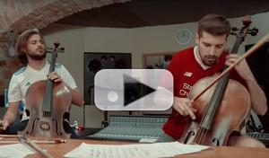 VIDEO: 2CELLOS Release New SEVEN NATION ARMY Music Video