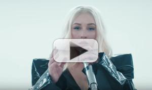 VIDEO: Christina Aguilera and Demi Lovato Premiere Video For FALL IN LINE