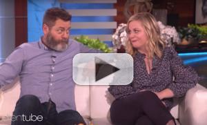 VIDEO: Amy Poehler & Nick Offerman Talk a Potential PARKS AND REC Reunion on THE ELLEN SHOW