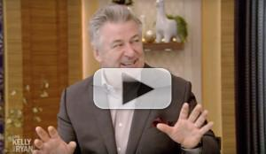 VIDEO: Alec Baldwin Talks Playing Trump on SNL, & More on LIVE with Kelly and Ryan