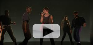 VIDEO: Christine and the Queens ft. Dam-Funk Perform 'Girlfriend' on The Tonight Show