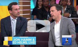 VIDEO: Jon Hamm and Ed Helms Talk the Many Shenanigans of their Upcoming Film TAG on GMA