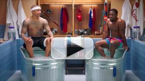VIDEO: Watch Kevin Hart and Isaiah Thomas Get COLD AS BALLS