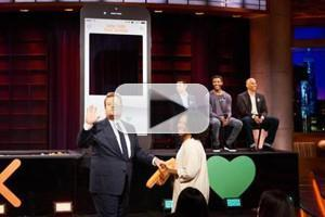 VIDEO: James Corden Plays 'Late Late Live Tinder' on THE LATE LATE SHOW