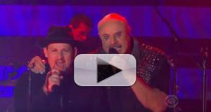 VIDEO: Dr. Phil Rocks Out with Good Charlotte on THE LATE LATE SHOW