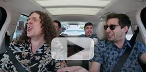 VIDEO: Watch New Trailer For New CARPOOL KARAOKE: THE SERIES With The Lonely Island and Weird Al