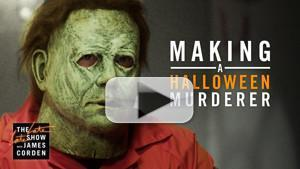 VIDEO: Watch 'Making a HALLOWEEN Murderer' from THE LATE LATE SHOW
