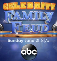 Scoop: Coming Up on CELEBRITY FAMILY FEUD on ABC - Sunday, July 8, 2018