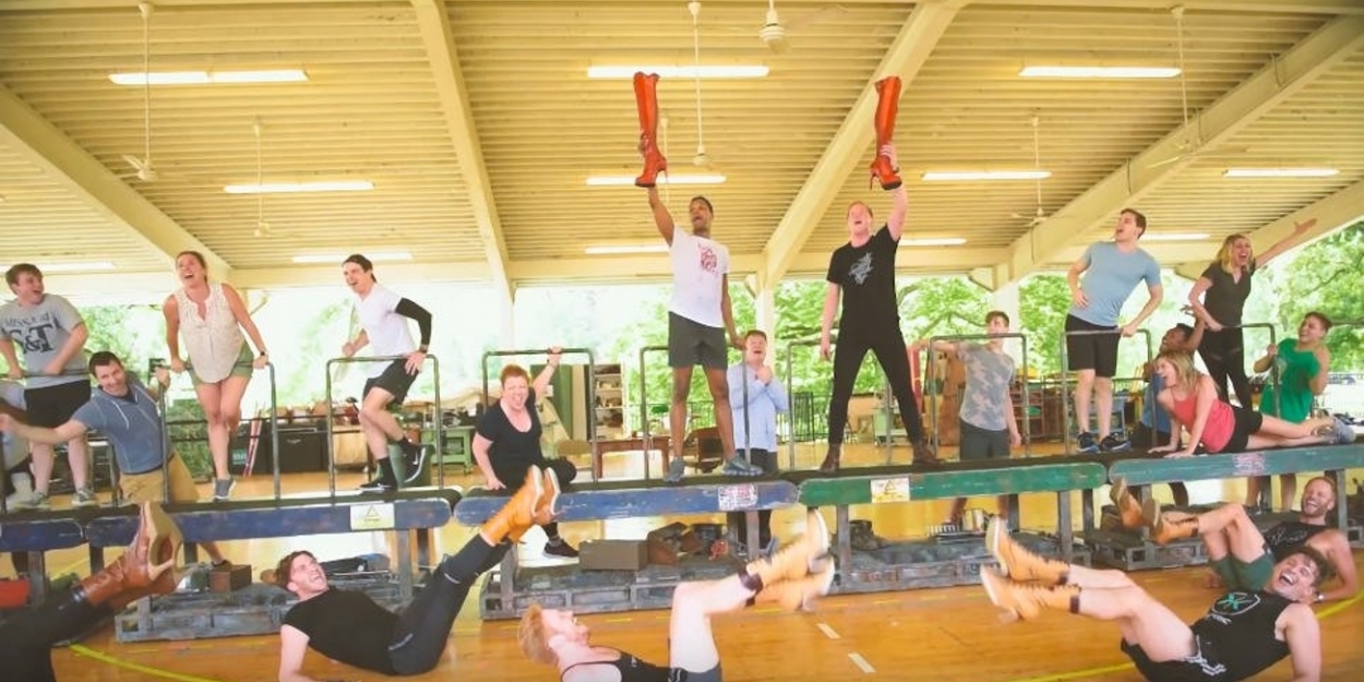 VIDEO: Get a Sneak Peek at KINKY BOOTS Rehearsals at the MUNY!