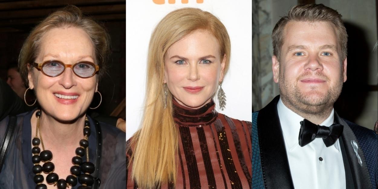 Meryl Streep, James Corden, Nicole Kidman, to Star in THE PROM on