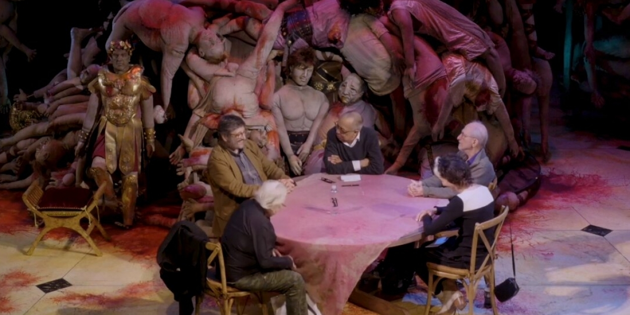 BWW TV: George C. Wolfe Leads The Tony-Nominated Designers Of GARY In A Roundtable Discussion