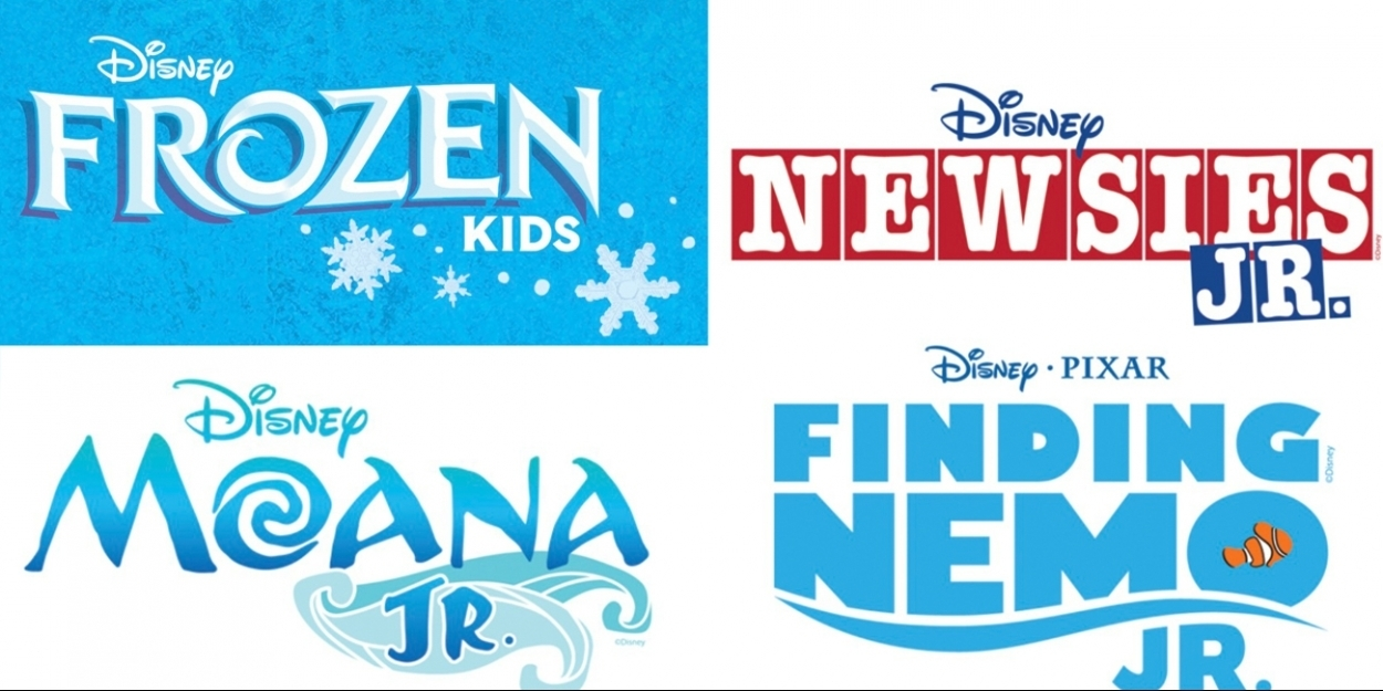 FROZEN KIDS, MOANA JR , NEWSIES JR , and FINDING NEMO JR  Will Soon