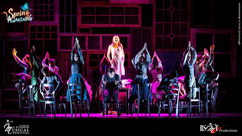 SPRING AWAKENING al Teatro Duse di Bologna: riparte il Summer Musical Festival della BSMT
