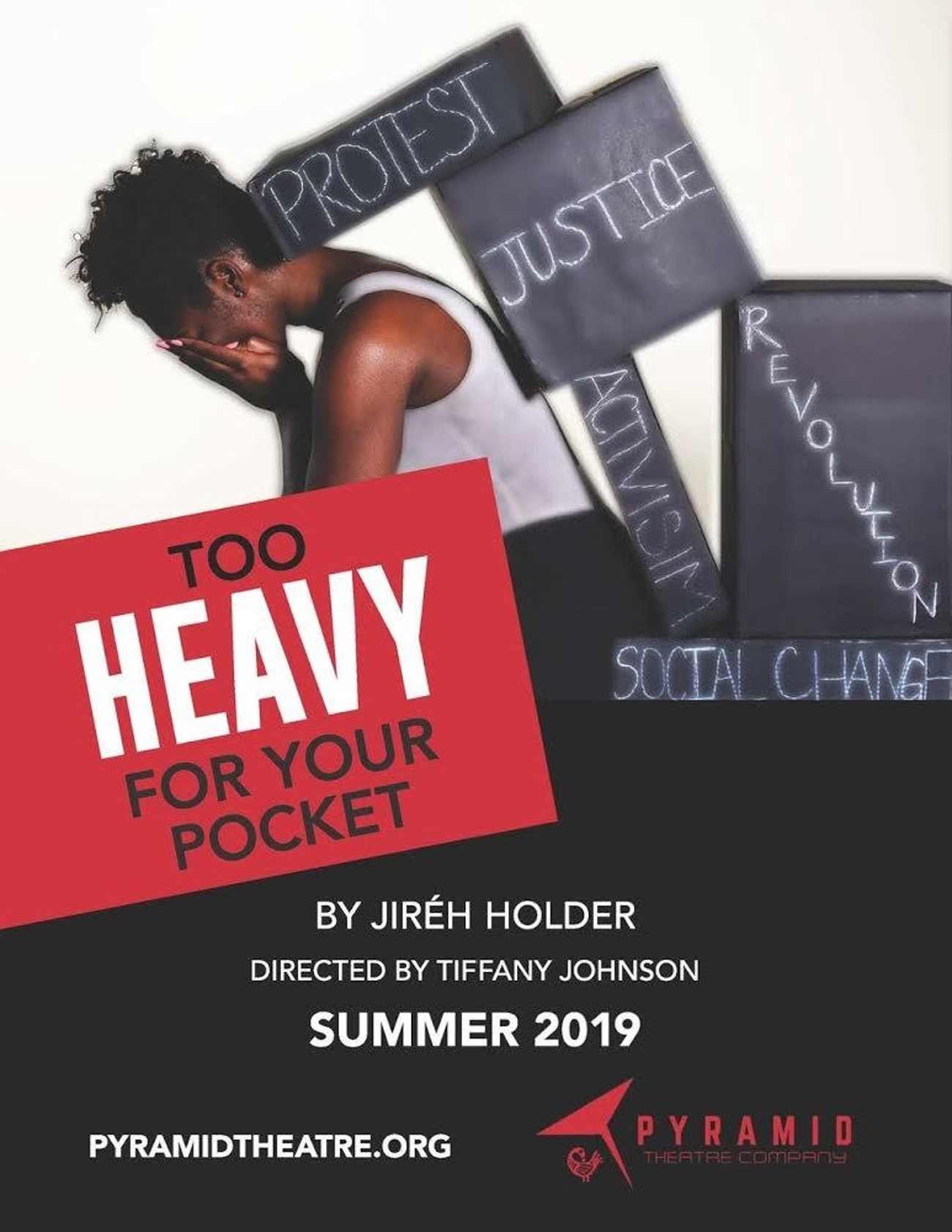 BWW Review: TOO HEAVY FOR YOUR POCKET at Pyramid Theatre: Looking Towards a Better Future