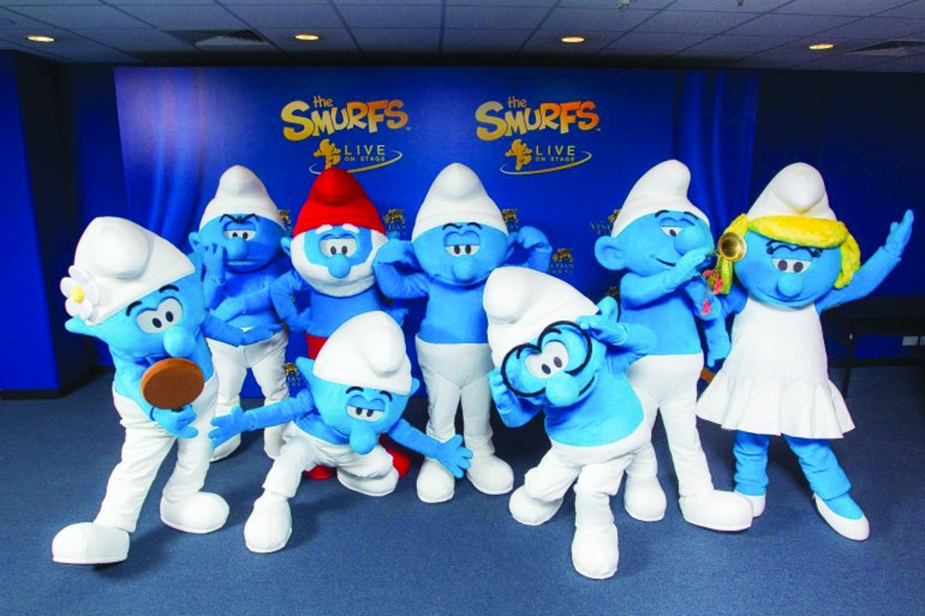 BWW Review: 'SMURFS' & 'HELLO KITTY' LIVE  at Qatar National Convention Centre