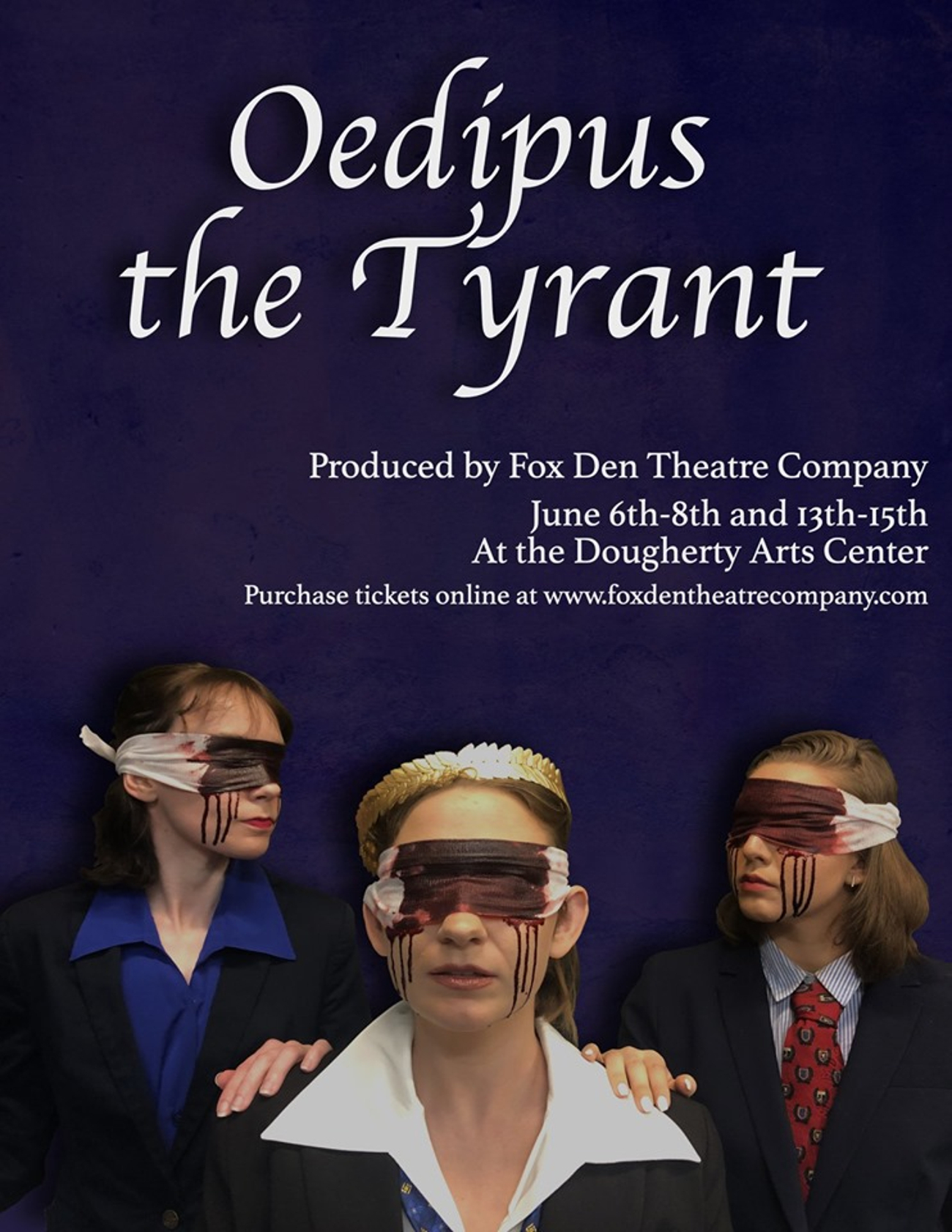 BWW Review: OEDIPUS THE TYRANT at Fox Den Theatre Company