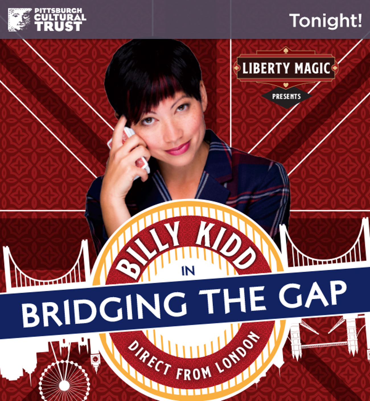 BWW Review: BILLY KIDD: BRIDGING THE GAP Fuses Magic, Comedy, Surrealism at Liberty Magic