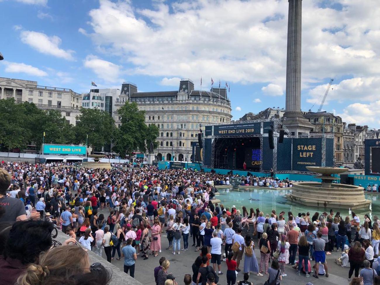 BWW Review: WEST END LIVE, Trafalgar Square