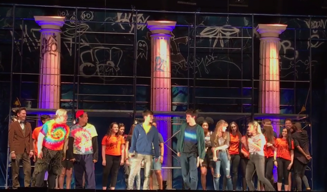 THE LIGHTNING THIEF: THE PERCY JACKSON MUSICAL Delivers Special Opening Night Finale at Broward Center for the Performing Arts