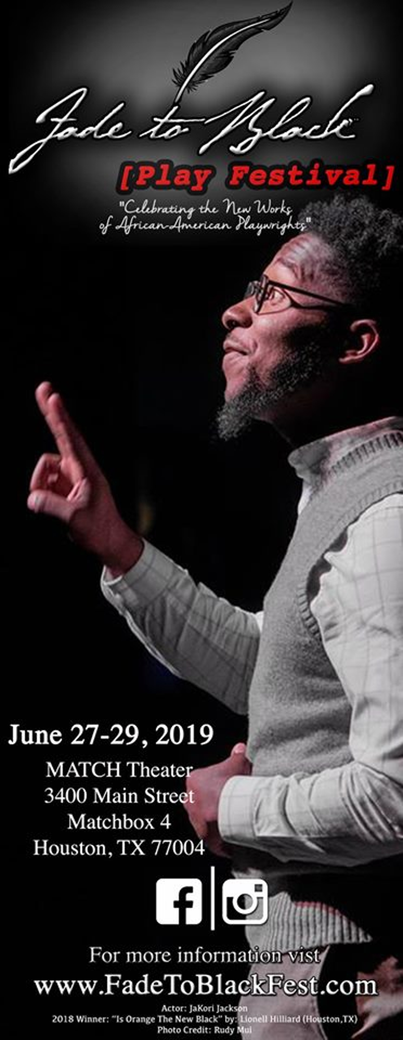 BWW Review: FADE TO BLACK marches on at MATCH
