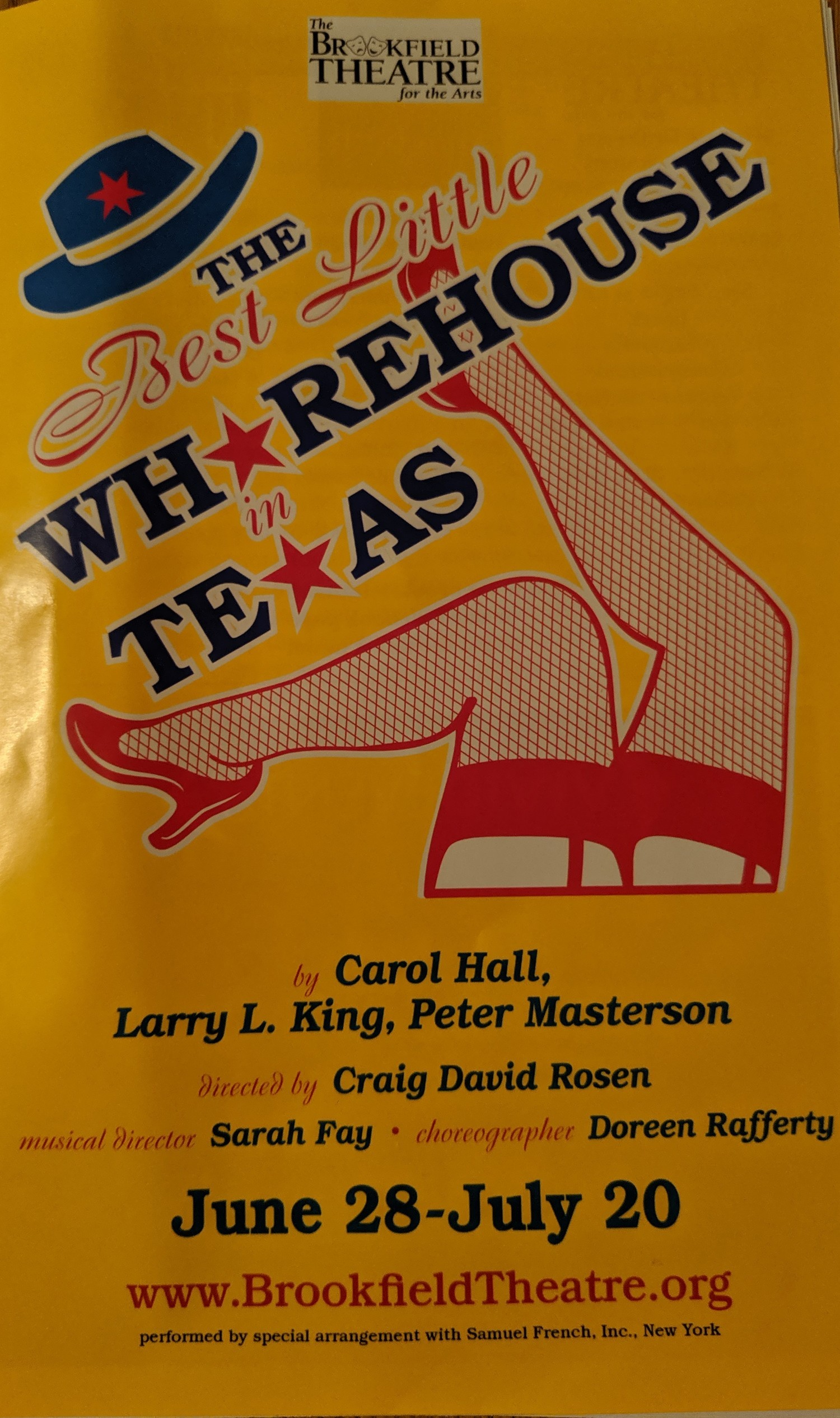 BWW Review: THE BEST LITTLE WHOREHOUSE IN TEXAS has a big night at Brookfield Theatre Of The Arts