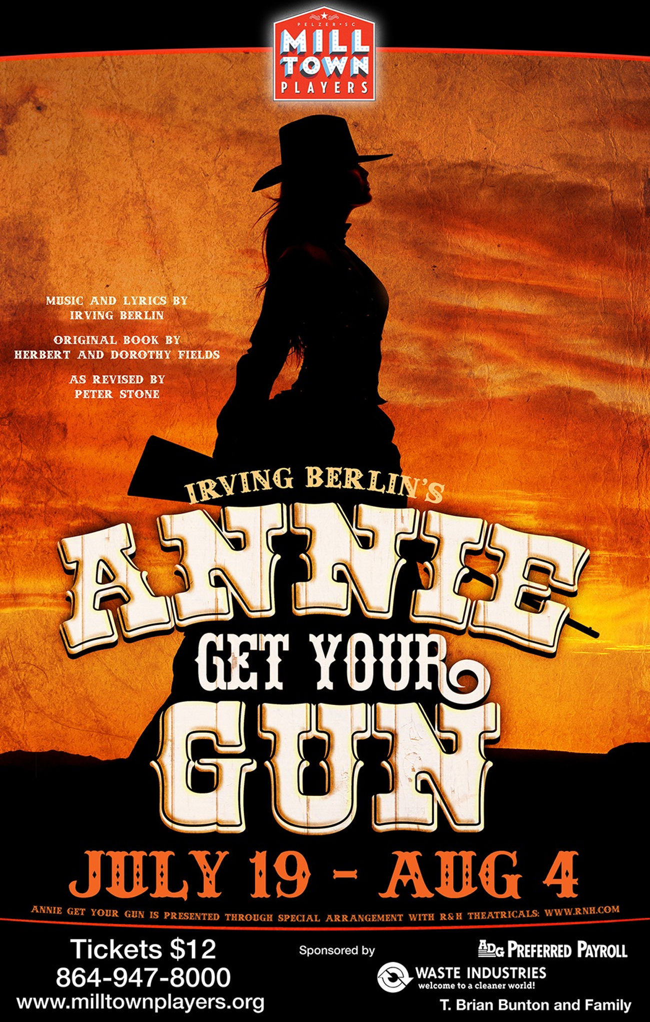 BWW Interview: Lauren Imhoff, Director of ANNIE GET YOUR GUN at Mill Town Players