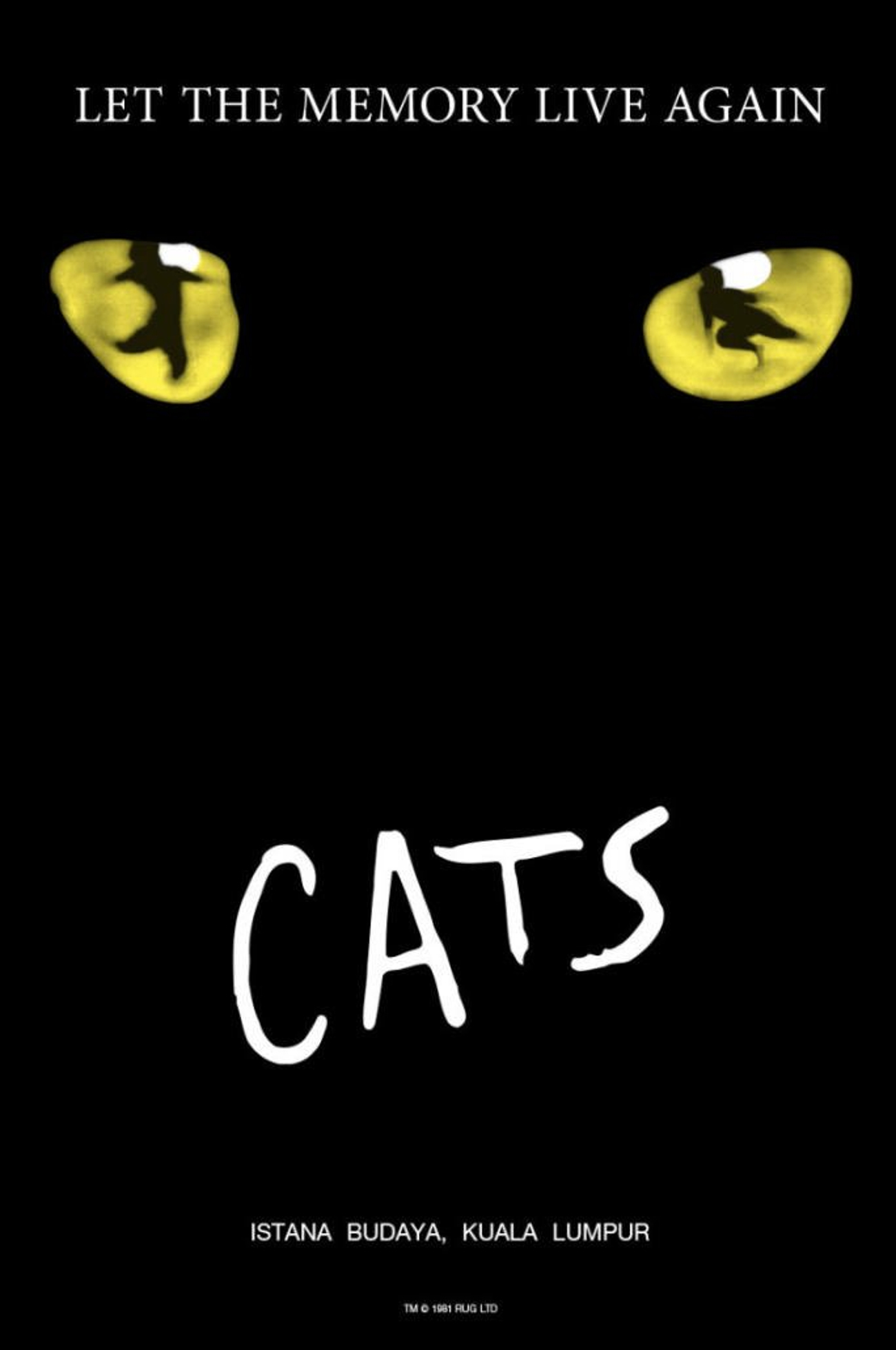 CATS to Let the Memory Live Again at Istana Budaya