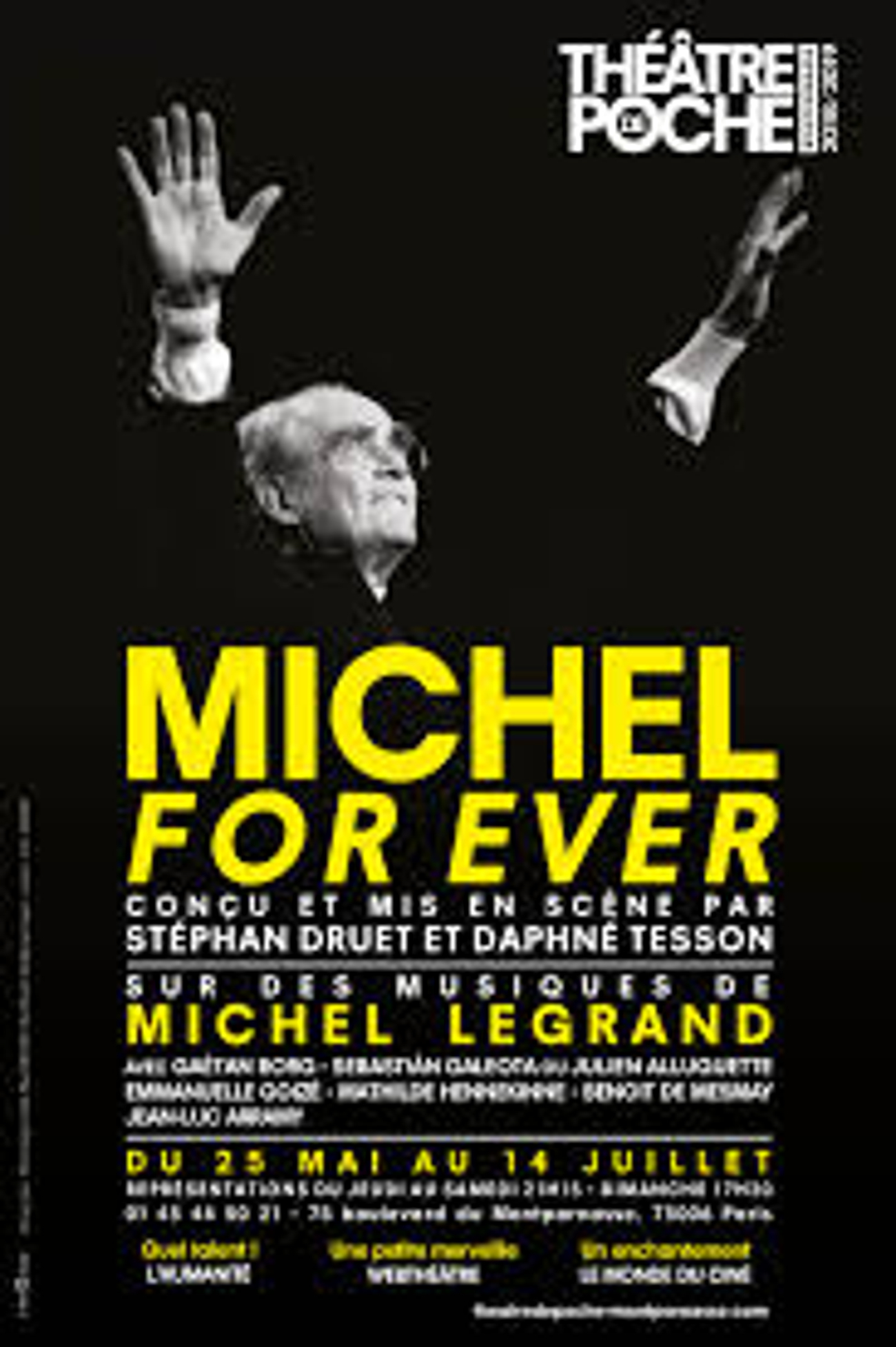 BWW Review: MICHEL FOR EVER at Théâtre De Poche