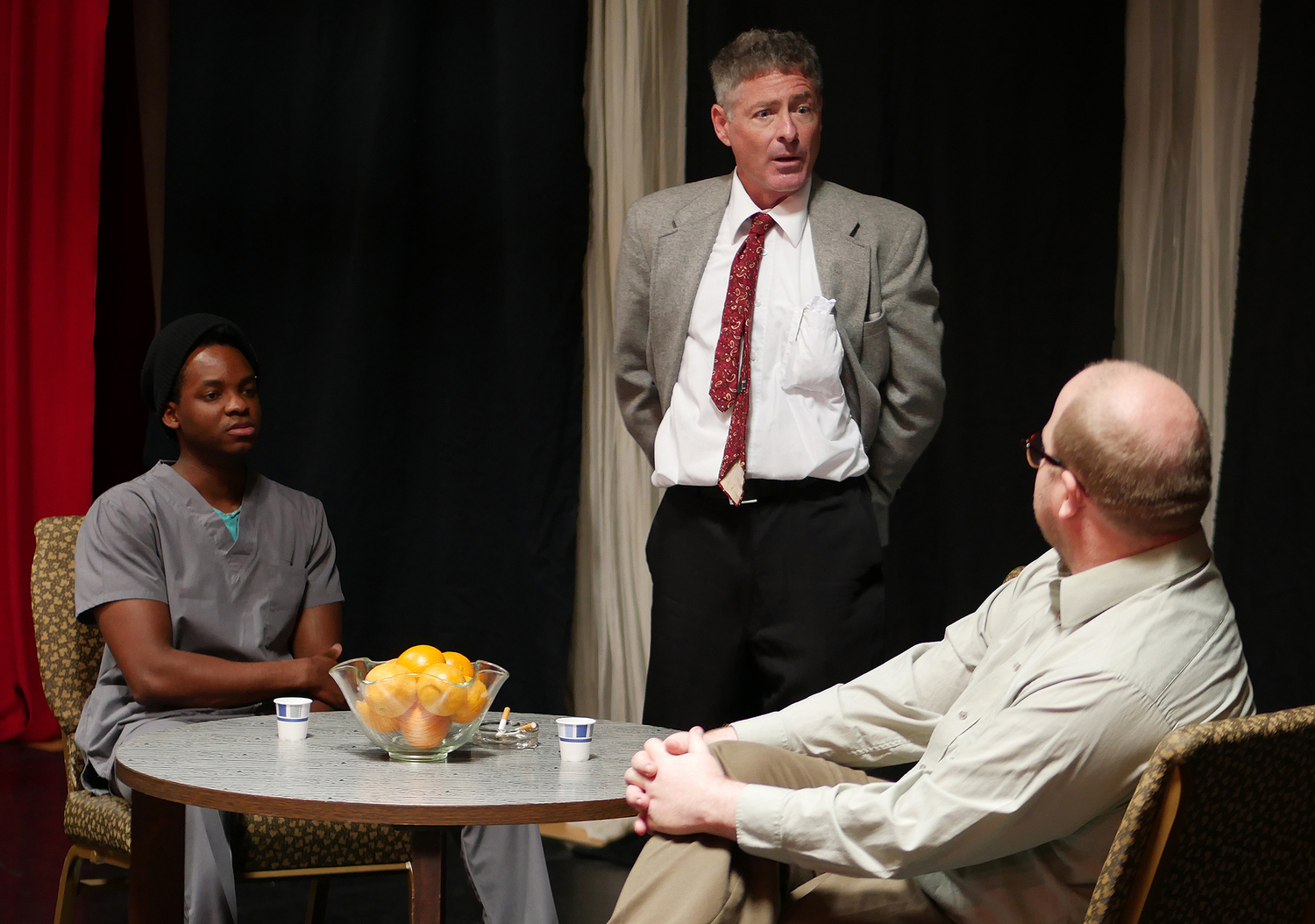 BWW Review: BLUE/ORANGE at Beacon Theater Company