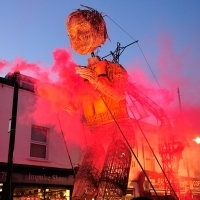 Photo Flash: Inside MO AND THE RED RIBBON's Trek Through London